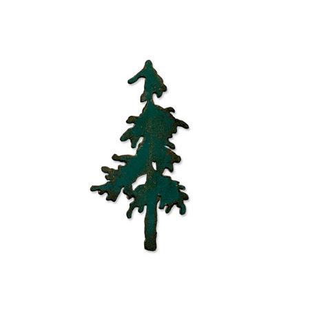 Sizzix - Tim Holtz - Alterations Collection - Bigz Die - Snow Tree