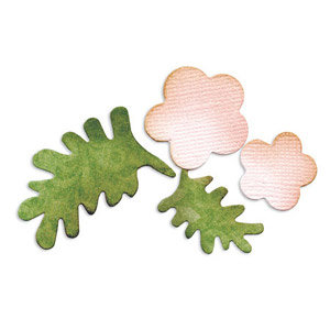 Sizzix - Originals Die - Jewelry - Medium - Flowers and Leaves