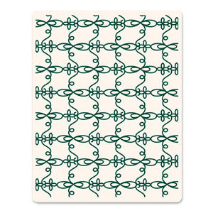 Sizzix - Ink-Its Collection - Letterpress Plate - Elegant Loops