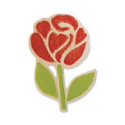 Sizzix - Embosslits Die - Country Foliage Collection - Die Cutting Template - Small - Garden Rose