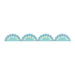 Sizzix - Country Foliage Collection - Sizzlits Decorative Strip Die - Lace Scallop