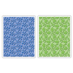 Sizzix - Textured Impressions - Embossing Folders - Country and Flowering Foliage Set