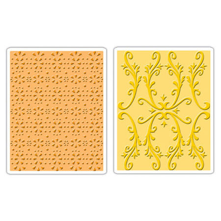 Sizzix - Textured Impressions - Embossing Folders - Country Cottage Set
