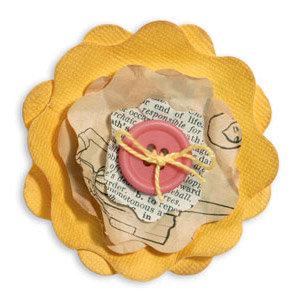 Sizzix - Fresh Vintage Collection - Bigz Die - Flower Layers 9