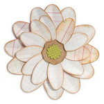 Sizzix - Bigz Die - Fresh Vintage Collection - Die Cutting Template - Flower, Petal Power