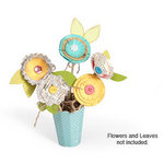 Sizzix - ScoreBoards Die - Fresh Vintage Collection - Extra Long Die Cutting Template - Vase, 3-D