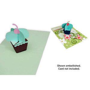 Sizzix - Party Essentials Collection - Bigz XL Die - Cupcake, 3-D