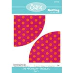 Sizzix - Quilting by Design - Bigz L Die - Drunkard's Path Quarter Circle