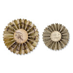 Sizzix - Tim Holtz - Sizzlits Decorative Strip Die - Alterations Collection - Die Cutting Template - Mini Paper Rosettes