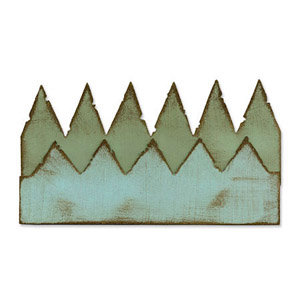 Sizzix - Tim Holtz - Alterations Collection - On the Edge Die - Pennants