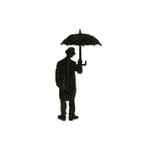 Sizzix - Tim Holtz - Bigz Die - Alterations Collection - Die Cutting Template - Umbrella Man
