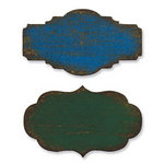 Sizzix - Tim Holtz - Alterations Collection - Movers and Shapers Die - Mini Labels Set