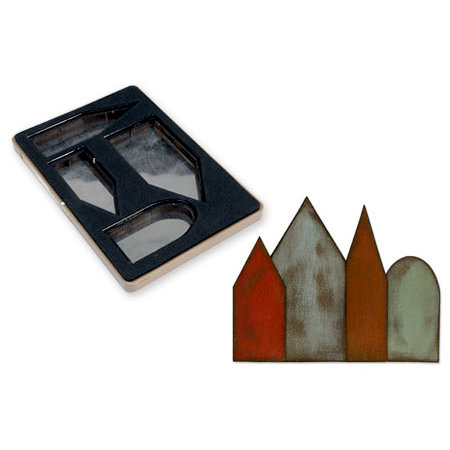 Sizzix - Tim Holtz - Alterations Collection - Movers and Shapers L Die - Artful Dwellings