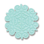 Sizzix - Basic Grey - Embosslits Die - Figgy Pudding Collection - Christmas - Die Cutting Template - Small - Snowflake 2