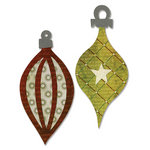 Sizzix - BasicGrey - Figgy Pudding Collection - Bigz Die - Ornaments 4