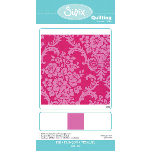 Sizzix - Quilting by Design - Bigz Pro Die - 9.5 Inch Finished Square