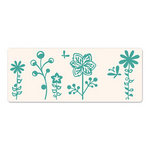 Sizzix - Ink-Its Collection - Letterpress Plate - Butterflies and Flowers
