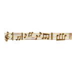 Sizzix - Sizzlits Decorative Strip Die - Sheet Music