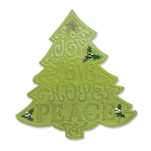 Sizzix - Bigz Die and Embossing Folder - Christmas - Tree, Christmas 2