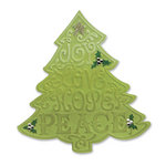 Sizzix - Bigz Die - Christmas - Die Cutting Template with Embossing Folder - Tree, Christmas 2