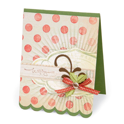 Sizzix - Bigz XL Die - Card, Scallop 4
