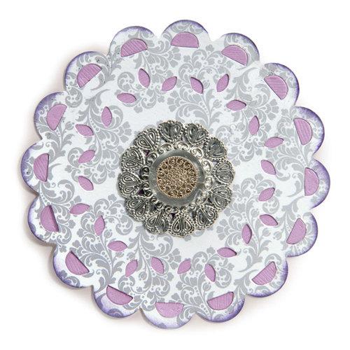 Sizzix - It's a Wrap Collection - Bigz Die - Doily, Lace Medallion
