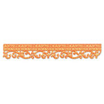 Sizzix - Sizzlits Decorative Strip Die - Decorative Accents Collection - Die Cutting Template - Royal Swirls