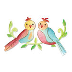 Sizzix - Decorative Accents Collection - Bigz Die - Love Birds