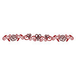 Sizzix - Vintage Valentine Collection - Sizzlits Decorative Strip Die - Vintage Vine
