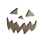 Sizzix - Tim Holtz - Movers and Shapers Die - Alterations Collection - Die Cutting Template - Mini Scary Jack-o-Lantern Set