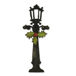 Sizzix - Tim Holtz - Bigz Die - Alterations Collection - Christmas - Die Cutting Template - Holiday Lamppost