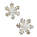 Sizzix - Tim Holtz - Movers and Shapers Die - Alterations Collection - Die Cutting Template - Mini Snowflakes Set
