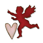 Sizzix - Tim Holtz - Alterations Collection - Movers and Shapers Die - Mini Love Struck Set