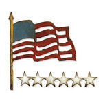 Sizzix - Tim Holtz - Alterations Collection - Bigz Die - Old Glory