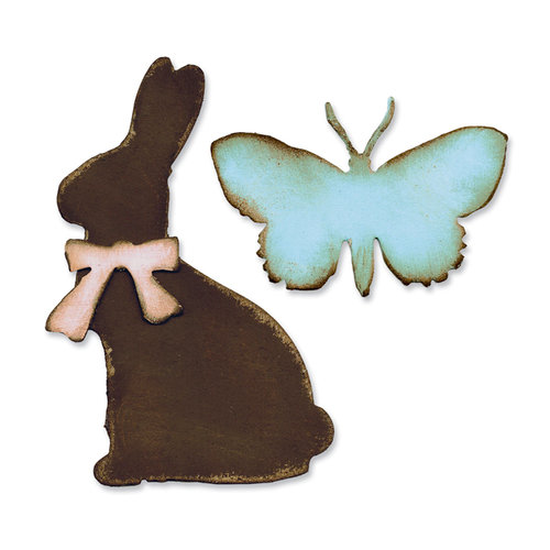 Sizzix - Tim Holtz - Alterations Collection - Bigz Die - Easter Elements