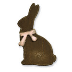 Sizzix - Tim Holtz - Movers and Shapers Die - Alterations Collection - Die Cutting Template - Mini Bunny and Bow Set