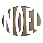 Sizzix - Tim Holtz - Movers and Shapers Die - Alterations Collection - Christmas - Die Cutting Template - Noel
