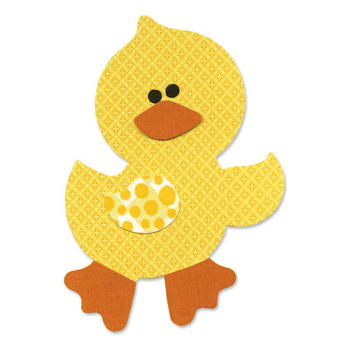 Sizzix - Bigz L Die - Quilting - Applique - Die Cutting Template - Duck