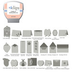 Sizzix - EClips - Electronic Shape Cutting System - Cartridge - Cards and Envelopes 2