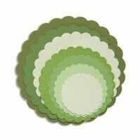 Sizzix - Framelits Die - Scallop Circles
