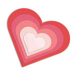 Sizzix Hearts Framelits Die Cutting Template