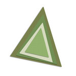 Sizzix - Framelits Die - Banners, Pennant Plain Set
