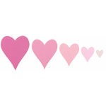 Sizzix - Framelits - Die Cutting Template - Hearts 2