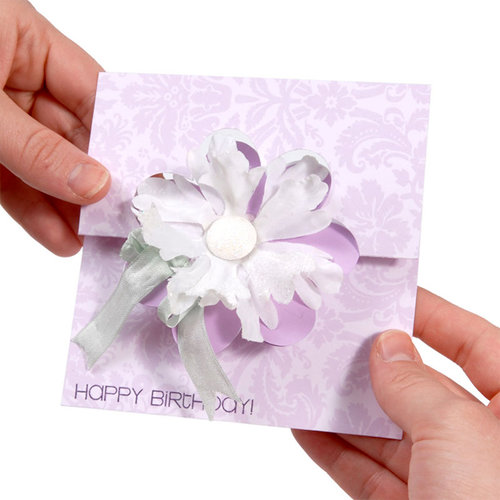 Sizzix - Movers and Shapers Die - Large - Card, Flower Flip-its