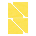 Sizzix - Bigz Die - Quilting - Die Cutting Template - Half-Square Triangles, 2.5 Inch Finished Square
