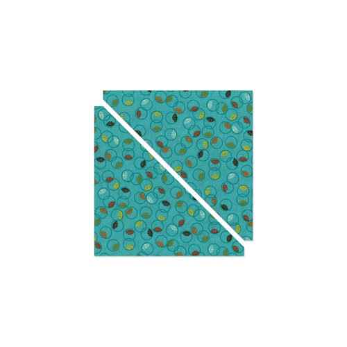 Sizzix - Bigz Pro Die - Quilting - Half-Square Triangle, 6.5 Inch Finished Square