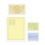 Sizzix - Textured Impressions - Embossing Folders - Mail Set