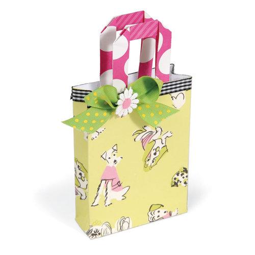 Sizzix - Bigz Pro Die - Die Cutting Template - Bag, Mini Grocery