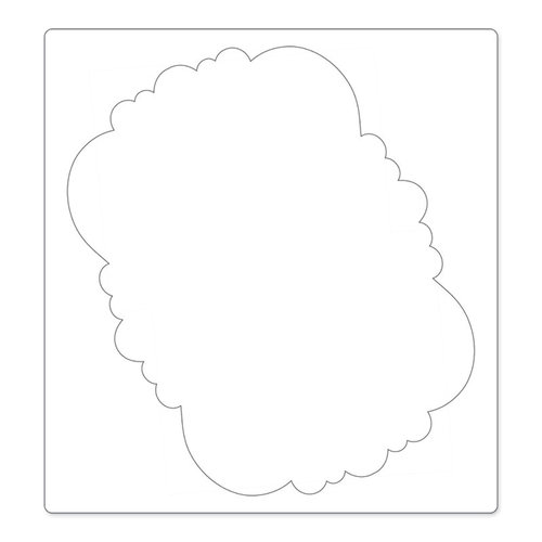 Sizzix - Bigz Pro Die - Die Cutting Template - Frame, Ornate