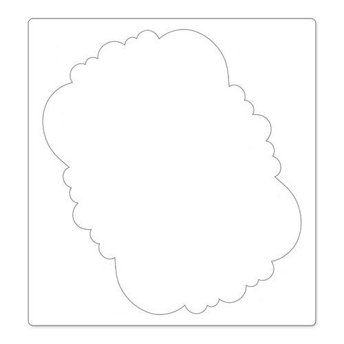 Sizzix - Bigz Pro Die - Die Cutting Template - Frame, Ornate